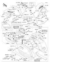 2006 kawasaki vulcan 1600 nomad vn1600g ca saddlebags parts