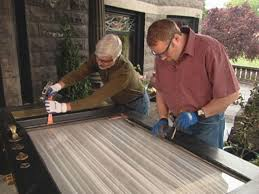 how to remove a sliding glass door panel how to replace a glass insert in a door how tos diy