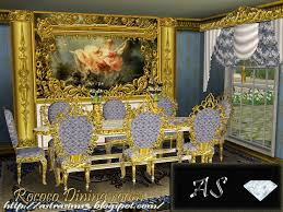 my sims 3 blog rococo dining set by astra rococo dining set by astra