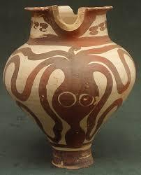 Minoan Octopus Vase Mochlos Excavation Project Artifacts