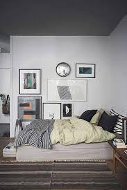 chambre grise ambiance couleur déco cosy avec une chambre grise