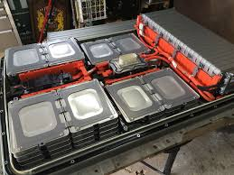 nissan leaf replacement battery 69 inside the battery of a nissan leaf qnovo