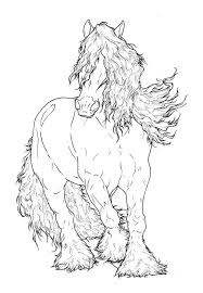 67 horse lineart images horse horses