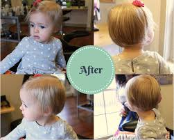 hair cuts for 18 month old boy madelyn s first haircut mullet to bob transformation a lovely