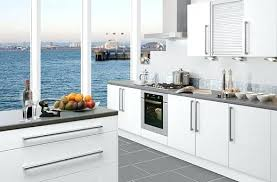 Thermofoil Cabinet Refacing Kitchen Cabinet Doors White Thermofoil Gloss Shaker Cabinets