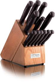 Stainless Steel Kitchen Knives Set by Cold Steel 59ksset 13 Piece Kitchen Classic Block Set 4116