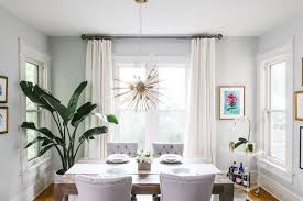 Hanging Curtains High And Wide Designs The Black U0026 White Abode Part 5 Choosing Window Treatments The