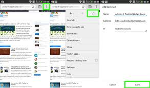 bookmarks on android how to bookmark page on chrome for android aw center