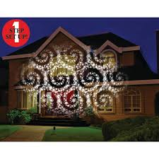 Christmas Lights Projector by Mr Christmas Cascading Motion Projector With 20 Slides 60721