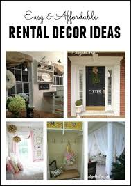 How To Decorate Your Home For Cheap Best 25 Rental House Decorating Ideas On Pinterest Small