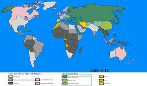 Confederate States Map by Confederacy Vs Russia By Goliath Maps On Deviantart