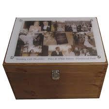 wedding keepsake box personalised xl wedding keepsake box with collage of photographs