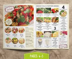 pages menu template modern grill restaurant menu menu template by kreatorr graphicriver
