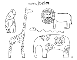 coloring african animals coloring pages getcoloringpages com