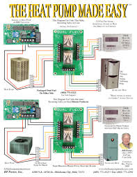 ac low voltage wiring diagram in carrier heat pump thermostat