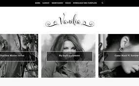templates blogger profissional vanilia blogger template é um template blogger simples limpo