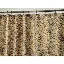 amazon com interdesign cheetah fabric shower curtain 72 inch by