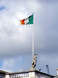 Flag Of Dublin Ireland File Irishflaggpo Jpg Wikimedia Commons