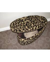 ora oval storage ottoman memorial day shopping special 4d concepts ora oval ottoman bench