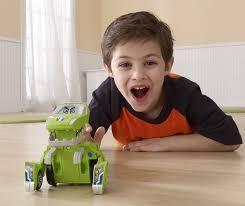 amazon com vtech switch u0026 go dinos sliver the t rex dinosaur