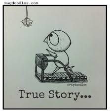 Treadmill Meme - ragdoodles relatable meme comic cartoon running treadmill the