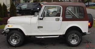 rust free 2wd 1986 jeep wrangler cj7