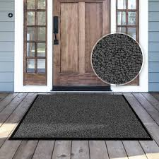 Amagabeli Wipe Your Paws Doormat Amazon Com Casa Pura Carpet Entrance Mat Gray Mottled 24