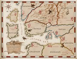 Odyssey Map The Wishing Map 1 Mitch Teemley