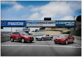 web mazda mazda raceway laguna seca receives fleet of stylish new 2014