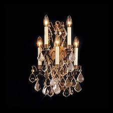Candle Wall Shop Weinstock Illuminations Versailles 14 In W 5 Light Antique