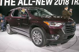 chevrolet traverse first look 2018 chevrolet traverse automobile magazine