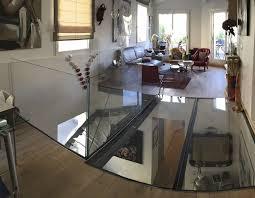 steel raised access floor glass indoor outdoor plancher