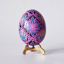 ukrainian easter eggs for sale pysanka egg in pink handmade unique gift for from children