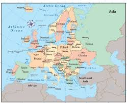 atlas map of europe europe atlas map major tourist attractions maps