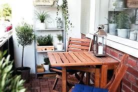 Patio Furniture For Small Balconies  Smashingplatesus - Apartment patio design