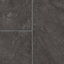 Laminate Tile Flooring Lowes Shop Style Selections 12 83 In W X 4 27 Ft L Glentanner Slate