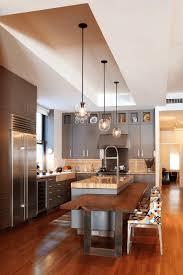 kitchen silver faucet quartz backsplash gas range modern kitchen