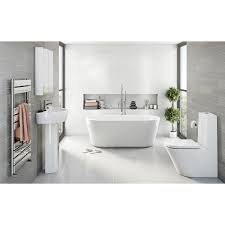 Contemporary Bathroom Suites - mode tate luxury bathroom suite with freestanding bath