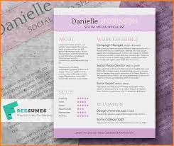 Cute Resume Templates Free 69 Best Free Resume Templates For Word Images On Pinterest Free