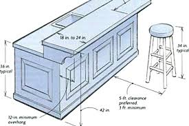 kitchen island heights what is typical bar height kitchen bar height size of home what