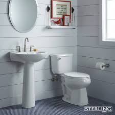 classic white and blue cottage bathroom something blue