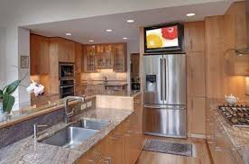 under cabinet tv for kitchen with kitchen tv idea image 9 of 19