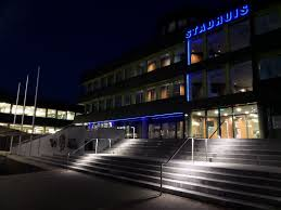 Illuminated Handrail Town Hall Doetinchem Illunox