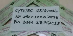 Cytotec Kapsul Harga Obat Aborsi 1 4 Bulan Paket Obat Cytotec Asli