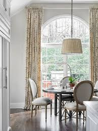 How To Hang Curtains On A Round Top Window Curtains For Arched Windows Uk Curtain Blog