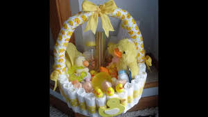 baby shower baskets easy baby shower basket decorations
