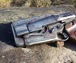 halloween barrel prop fallout 4 10mm pistol 13 steps with pictures