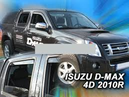 wind deflectors for isuzu d max 1 8dh 2002 2012 pick up 4doors