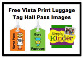 vistaprint hall pass image freebie u0026 giveaway simply kinder