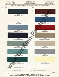 1966 pontiac gto car paint colors urekem paints